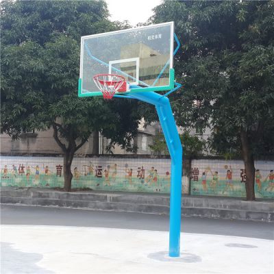 佛山标准篮球架送货安装 户外埋地篮球架 篮球架厂家直销
