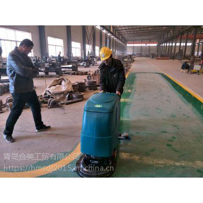 工厂日常清洁用洗地机可以吗?青岛合美全自动洗地机