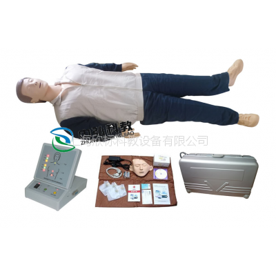 训练型成人CPR急救模拟人,徒手心肺复苏训练假人模型