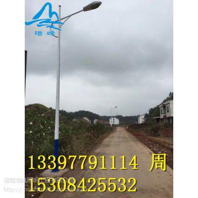 湖南湘西凤凰道路灯厂家 单头双头道路 LED太阳能路灯