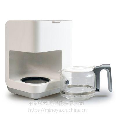 MINOYA办公室全自动咖啡机滴漏式家用智能蒸汽小型美式咖啡机正品