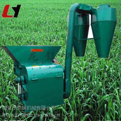 小型树叶粉碎机 可定做带除尘器秸秆粉碎机