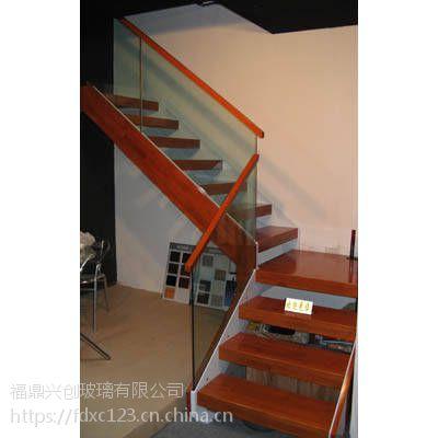 供应兴创楼梯玻璃