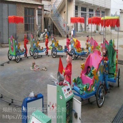 户外游乐场猴子拉车游乐设备 儿童室内外轨道火车