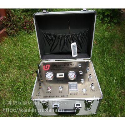 全国广东自来水管清洗项目润清高周波脉冲水管清洗设备合作代理