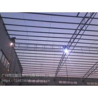 广州-增城专业钢架防腐 铁棚清拆 厂房彩瓦更换工程