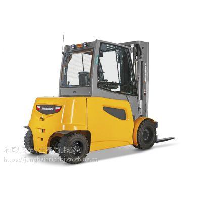 永恒力电动平衡重叉车 3.5吨 EFG535k 四轮车 叉车出租