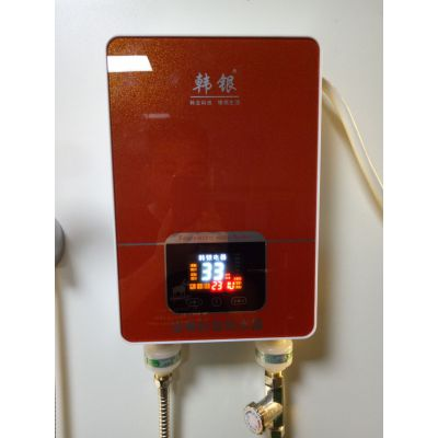 韩银Q2即热式智能恒温电热水器、即热式热水器厂家批发
