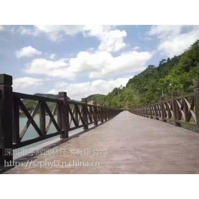 深圳仿木护栏|水泥仿木栏杆厂家方案报价