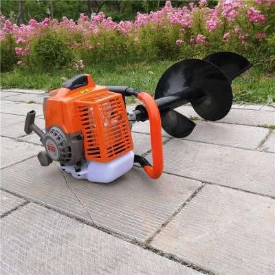 热销小型挖坑机 工地装修用打眼机 葡萄园果园电线杆打桩机