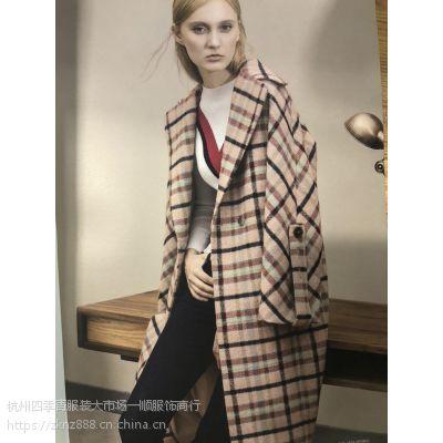知恩【GCCG】2018秋冬装当季新款时尚 中长款潮流女装品牌折扣 走份