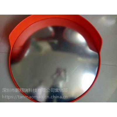 深圳交通广角镜厂家 PC转角镜 停车场反光镜 安全凸面镜GJJ1