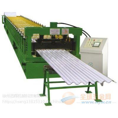 徐州迅辉机械供应全自动彩钢压瓦机设备全新价格优惠