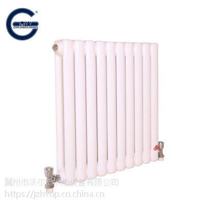 钢制柱式散热器主要由走水部分和对流片组成 钢5柱 钢制暖气片