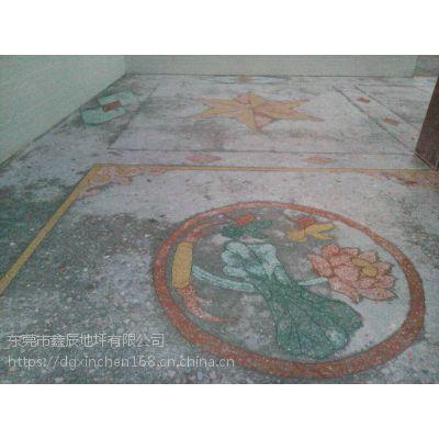 广州天河水磨石晶面处理。白云旧地坪翻新。水磨石固化地坪施工
