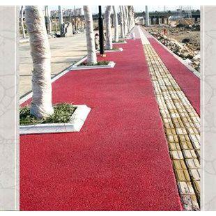 南溪县黑沥青路面改色 红色,黄色,绿色,蓝色路面喷涂