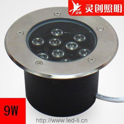 江西上饶厂家供应LED地埋灯质量好,制作精良,工程质量-灵创照明