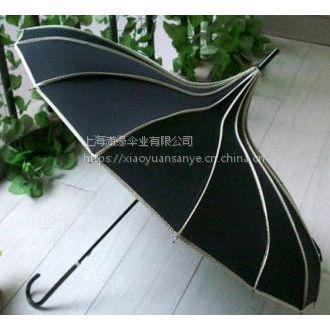 供应宝塔伞定制、宝塔形广告伞制作加工工厂 上海制伞厂