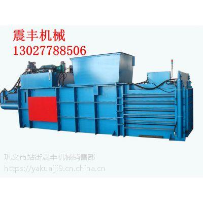 震丰机械秸秆打包机液压秸秆打包机设备供应可按客户要求定制 质量保证