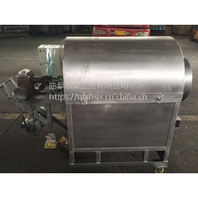 宏燊瓜子滚筒炒货机 燃气/煤,铁板外壳板栗炒货机