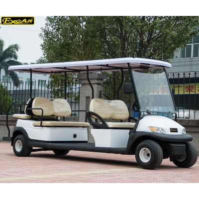 卓越改装款厂家直销新能源景区游览接待电动观光车四轮电动车