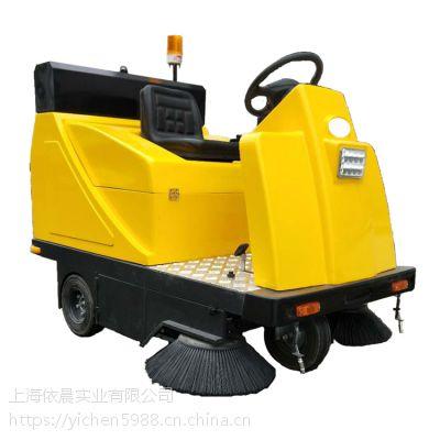 电瓶式工厂车间道路扫吸一体机工业扫地机器石子灰尘清扫机
