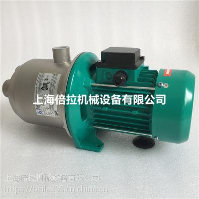 上海现货 威乐MHI203 380V多级离心热水循环太阳能供水增压泵