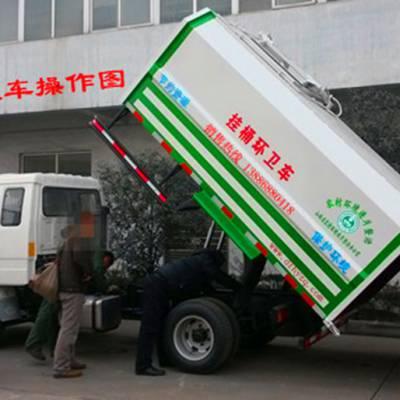 湖北3立方密封式垃圾车还是宏宇好!3立方密封式垃圾车价格