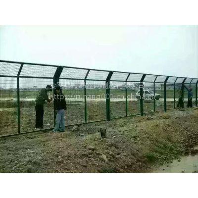 养殖围栏网、散养鸡鸭牛羊专用护栏网、山地隔离网、优质低碳铁丝浸塑、润昂现货直销