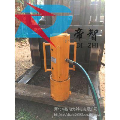 防汛打桩机气动型手动植桩机供应厂家