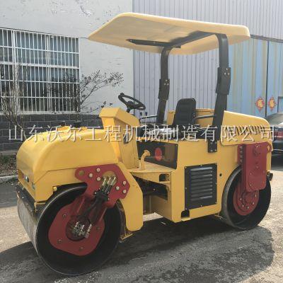 303沃尔生产小型双轮压路机现货 座驾式小碾子厂家直销