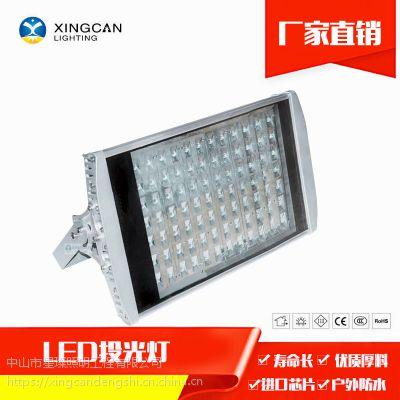 大功率户外防水压铸投光灯42W56W84W98W114W 平板led隧道投光灯
