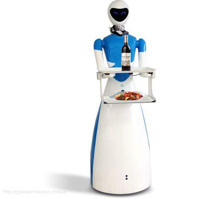 穿山甲机器人旗下智能送餐机器人女神:您节省人力吸引客户的好员工