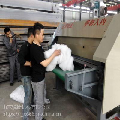 专做羊毛被胎的梳理机哪里买,专业做千层网被胎的机器