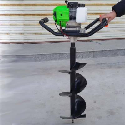 果树追肥钻孔机 新型挖坑机图片 小型植树挖坑机