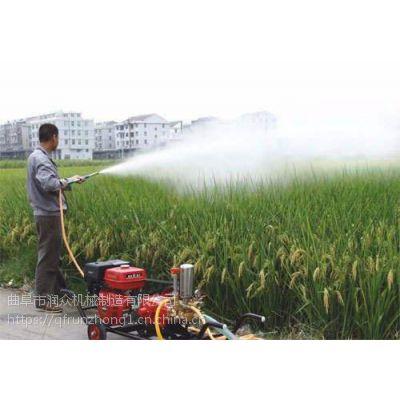 200升农作物杀虫喷雾器 带药桶高压打药机 农田抛洒20米喷雾器