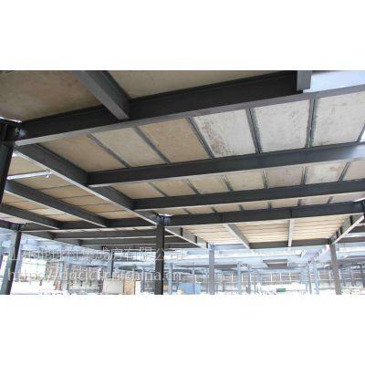 山东潍坊钢骨架轻型楼板 专业loft楼层板隔音保温