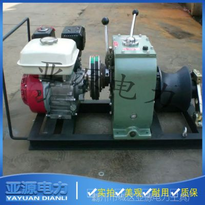 TJM-3柴油绞磨机 TJM-5汽油绞磨机 TJM-8快速机动绞磨机厂家