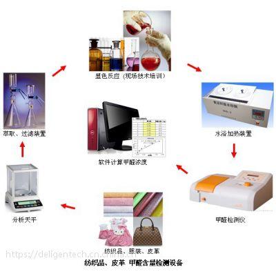 皮革甲醛检测(配套玻璃仪器、耗材试剂)