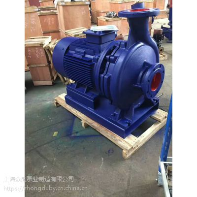 大流量管道离心泵SLW65-315 流量:25M3/H 扬程:125M 铸铁 河南南阳众度泵业