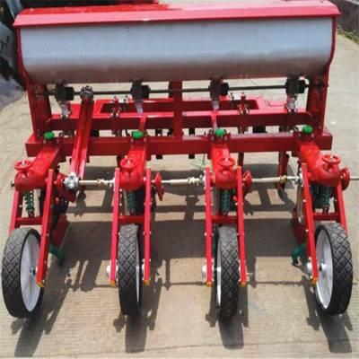 新型四轮牵引玉米免耕精播机 富兴多行多功能小麦播种机