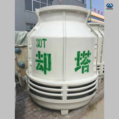 【拜读冷却塔选型方法】制冷30T凉水塔 黄骅玻璃钢圆塔华强知乎