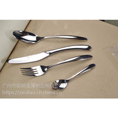 供应西餐刀叉餐具 酒店刀叉餐具 广州不锈钢餐具