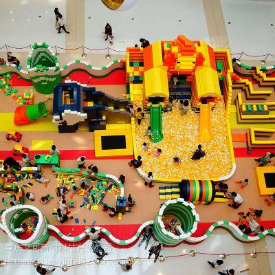 儿童乐园epp大型泡沫软体拼装组合积木城堡 方砖墙幼儿园颗粒玩具