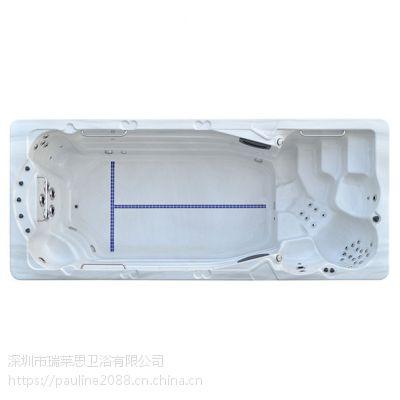 杭州游泳池厂家专业生产别墅SPA池 无边际成品游泳池