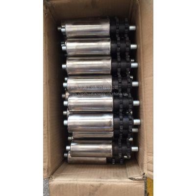 厂家直销动力镀铬滚筒 广州华涛生产带齿轮镀铬滚筒