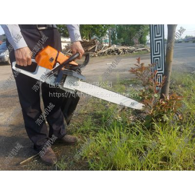 链条挖树机汽油动力 带土球苗木移栽机