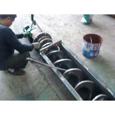 不锈钢圆管输送机与矿渣粉管式提升机