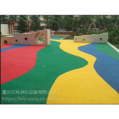 重庆奉节、巫山、巫溪县彩色现浇颗粒施工队,EPDM、人造草坪厂家