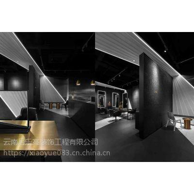 折与叠的艺术光影空间,昆明居乐高美发店装修案例!